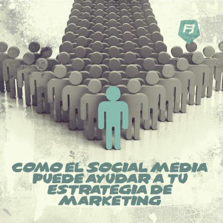 Cómo el Social Media puede ayudar a tu Estrategia de Marketing en Redes Sociales