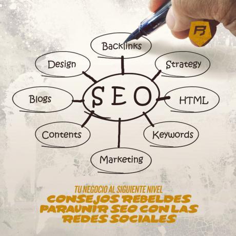 Tu negocio al siguiente nivel: Consejos rebeldes para unir SEO y Redes Sociales