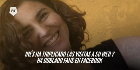 [Caso Práctico] Inés ha triplicado las visitas a su web y ha doblado fans en Facebook